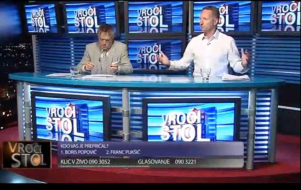 VIDEO: Popovič Pukšiču: Hčer si pretepel pred ljudmi