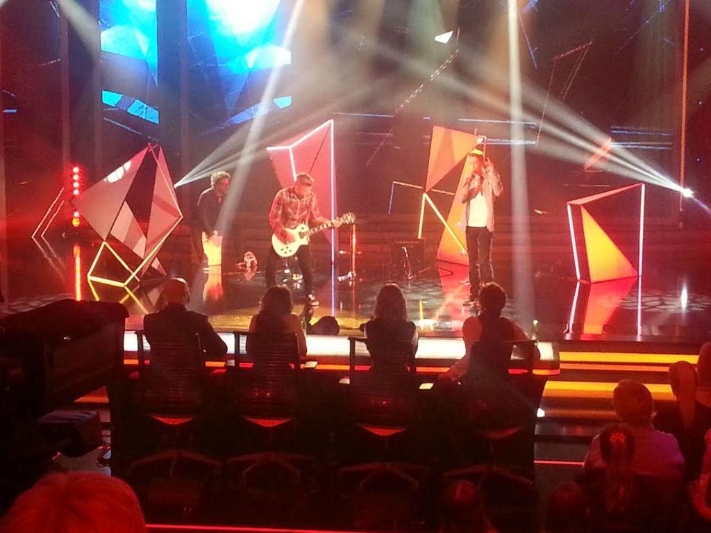 FOTO: V finalu Talentov Zala Smolnikar ter Miha in Nejc