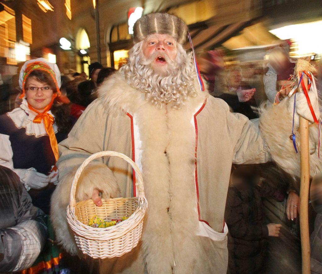 Kje lahko ulovite dedka Mraza