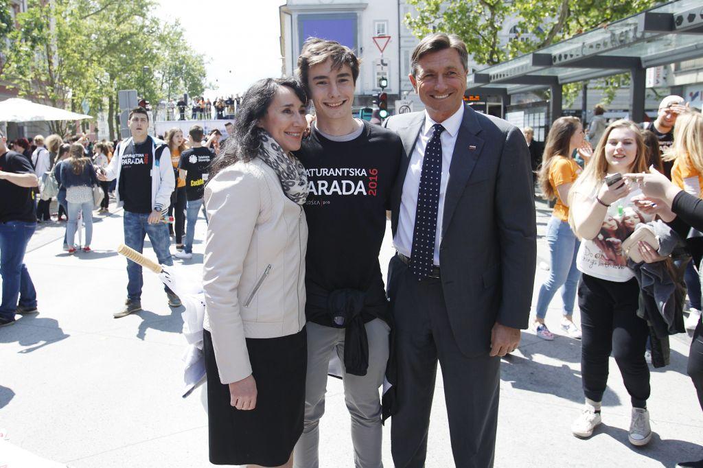 Pahorjev sin Luka doživel nesrečo