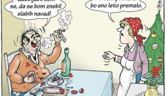 Novoletna zaobljuba... FOTO: Branko Babič