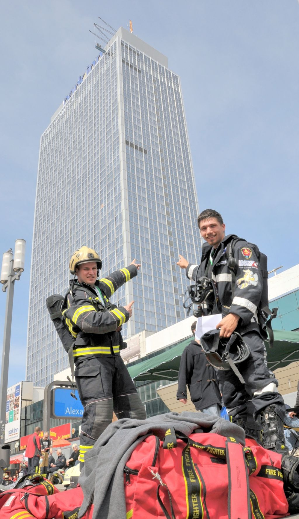 Izziv za najbolj trenirane gasilce