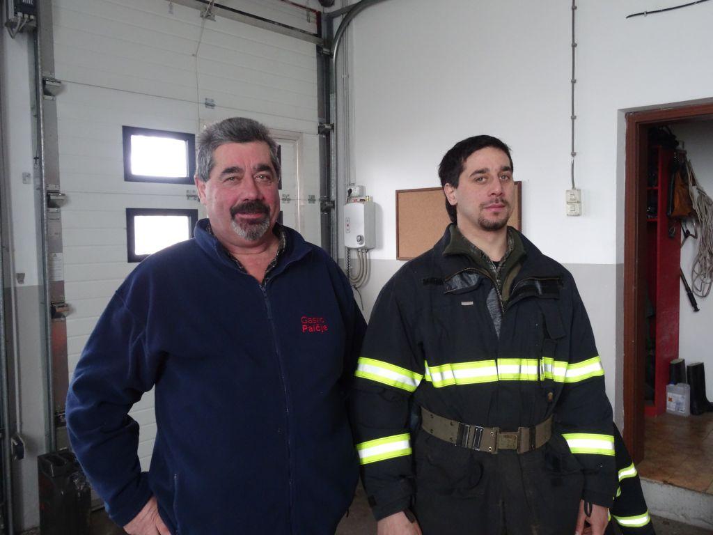 Neposlušni gasilci rešili Palčje pred najhujšim
