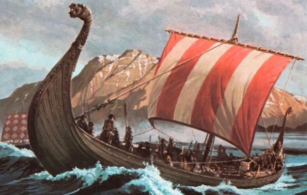 Vikingi s kristali našli pot do Amerike